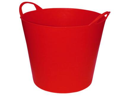 AVR flexibele tuinmand 20l rood