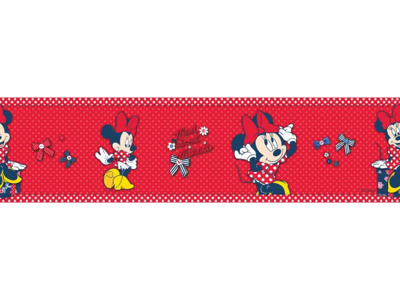 Disney frise adhésif Minnie red bow rouge