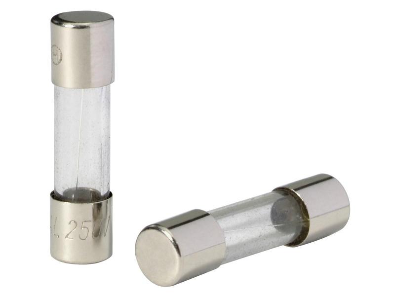 Profile fusible sous verre 10A 5 pièces