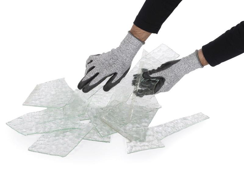 Kreator gants de jardinage XL PU-flex gris
