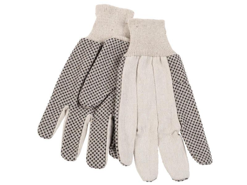 Kreator gants de jardinage XL canvas blanc