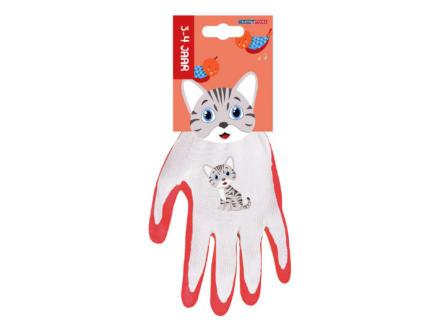 AVR gants de jardinage enfants 3/4 ans chat