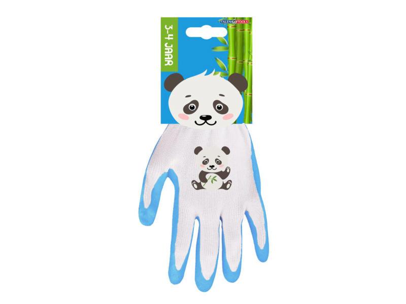 AVR gants de jardinage enfants 3/4 ans panda