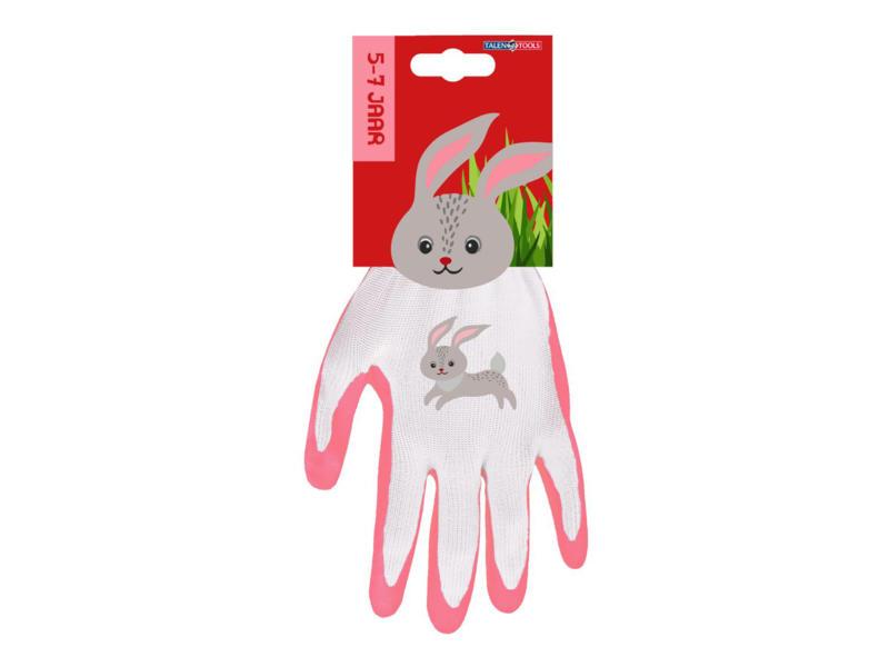 AVR gants de jardinage enfants 4/6 ans lapin