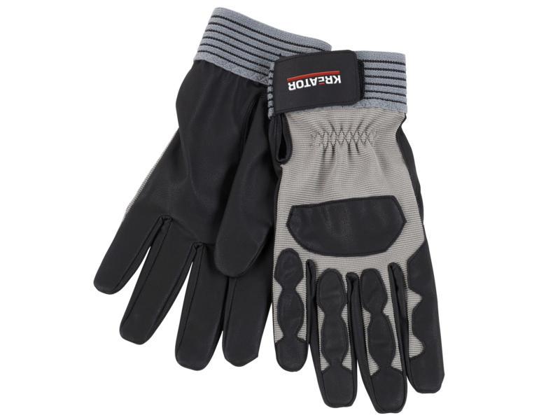 Kreator gants de travail XL PU-flex noir et gris