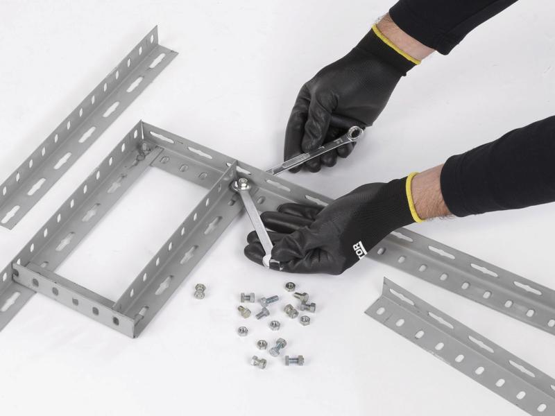 Kreator gants de travail XL PU-flex noir