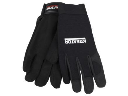 Kreator gants de travail XL cuir artificiel noir