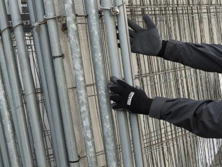 Kreator gants de travail XL latex noir