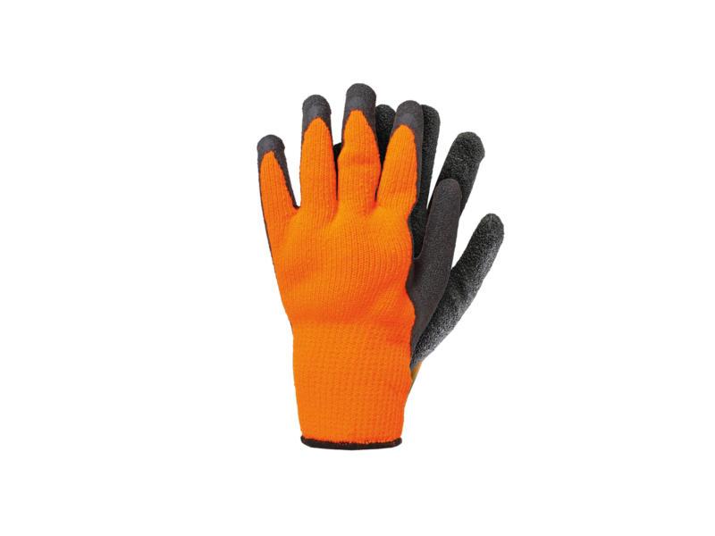 AVR gants de travail XL thermo acrylique orange