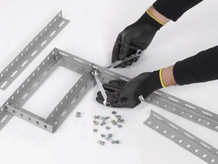 Kreator gants de travail XXL PU-flex noir