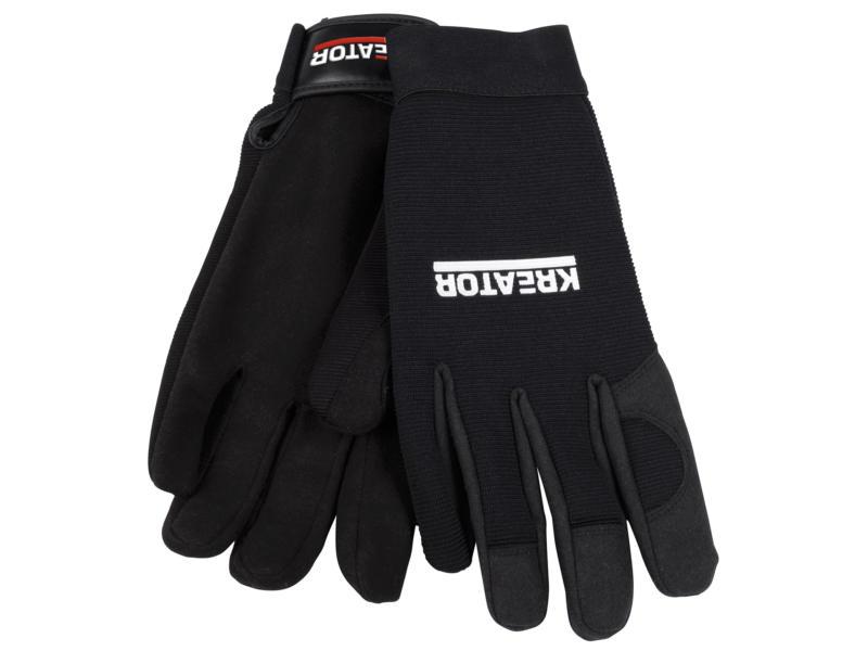 Kreator gants de travail XXL cuir artificiel noir