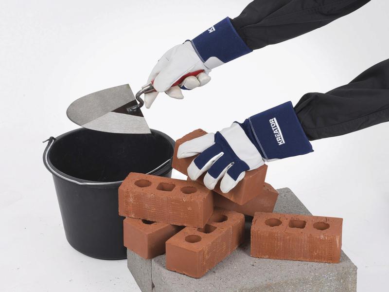 Kreator gants de travail XXL cuir bleu