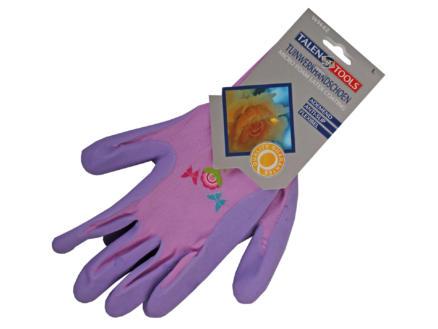 AVR gants de travail professionnels M latex pourpre