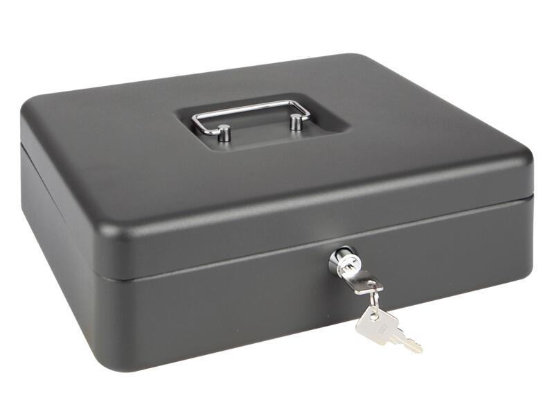 Practo Home geldkoffer met muntcompartimenten 9x30x24 cm
