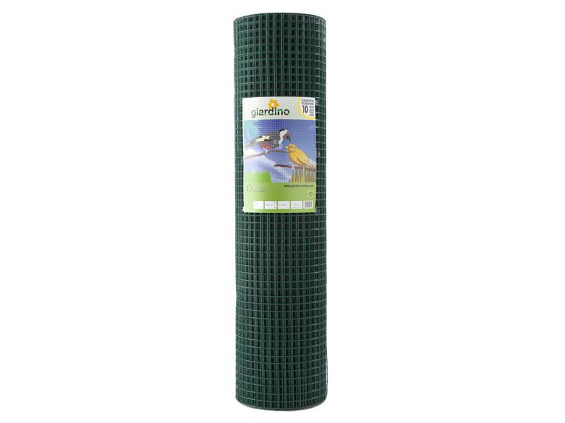 Giardino grillage soudé 2,5m x 101cm 12,7mm plastifié vert