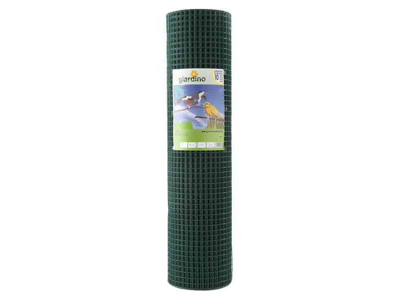 Giardino grillage soudé 25m x 102cm 25,4mm plastifié vert