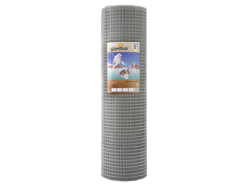 Giardino grillage soudé 25m x 201cm 12,7mm galvanisé