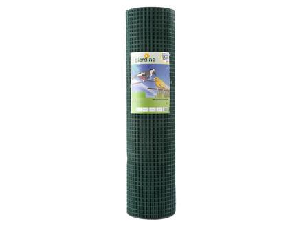 Giardino grillage soudé 25m x 51cm 25,4mm plastifié vert