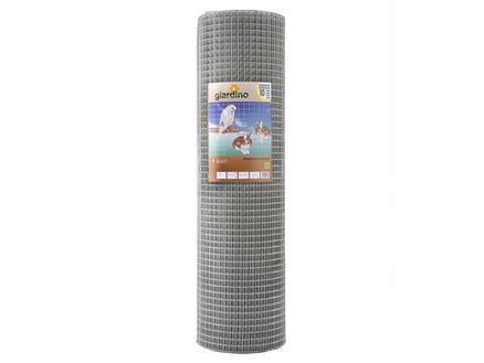 Giardino grillage soudé 5m x 101cm 12,7mm galvanisé