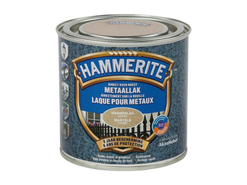 Hammerite hamerslaglak 0,25l koper