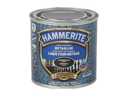 Hammerite hamerslaglak 0,25l zwart