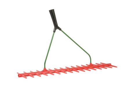 Polet hooihark 60cm 16 tanden kunststof zonder steel