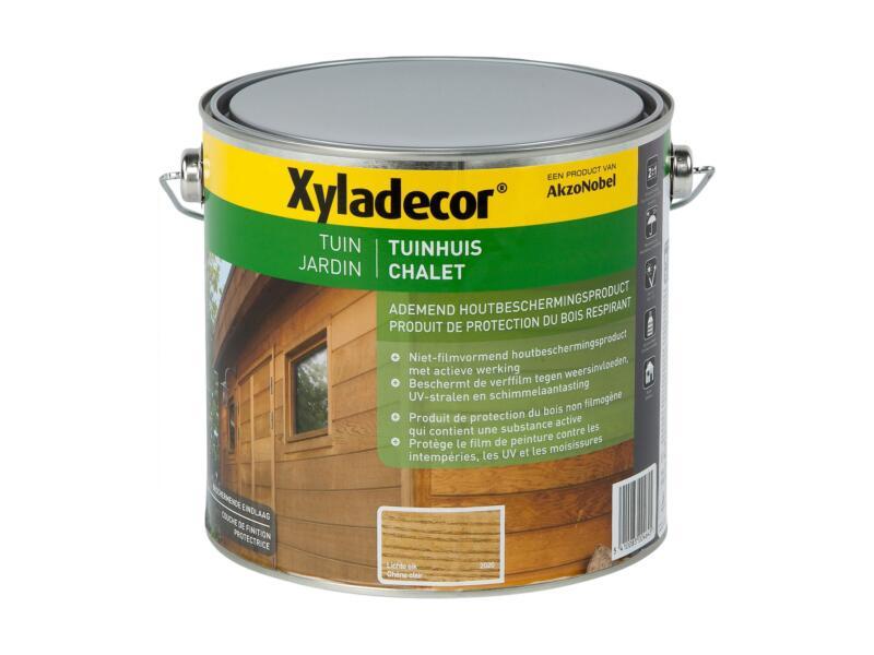Xyladecor houtbeits tuinhuis 2,5l lichte eik