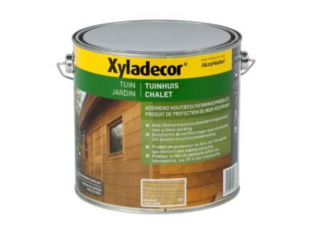 Xyladecor houtbeits tuinhuis 2,5l naturel eik