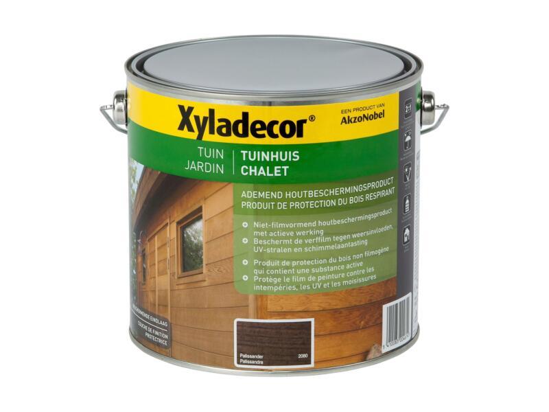 Xyladecor houtbeits tuinhuis 2,5l palissander