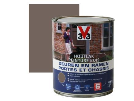 V33 houtlak ramen & deuren zijdeglans 0,5l buffalo