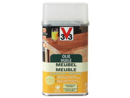 V33 huile meuble mat 0,5l incolore