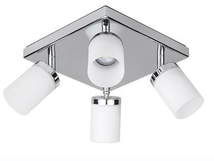 Jedi iDual Citrine LED plafondspot 24W dimbaar chroom