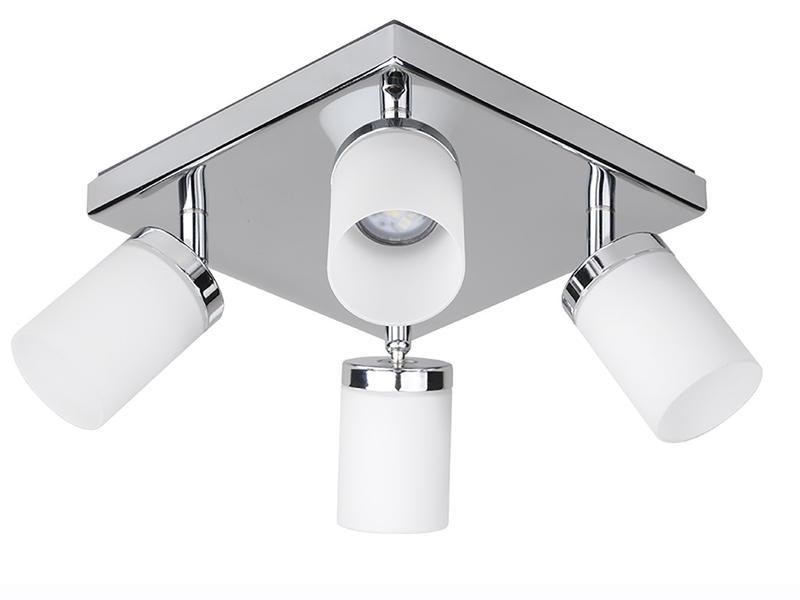 Jedi iDual Citrine spot de plafond LED 24W dimmable chrome