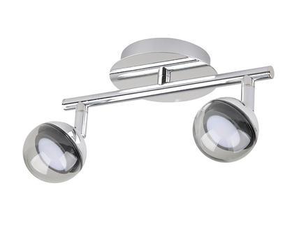 Jedi iDual Olivine barre de spots LED 12,5W + télécommande chrome