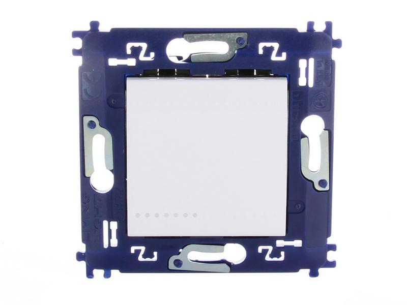 Bticino interrupteur inverseur LivingLight avec fixation à vis blanc