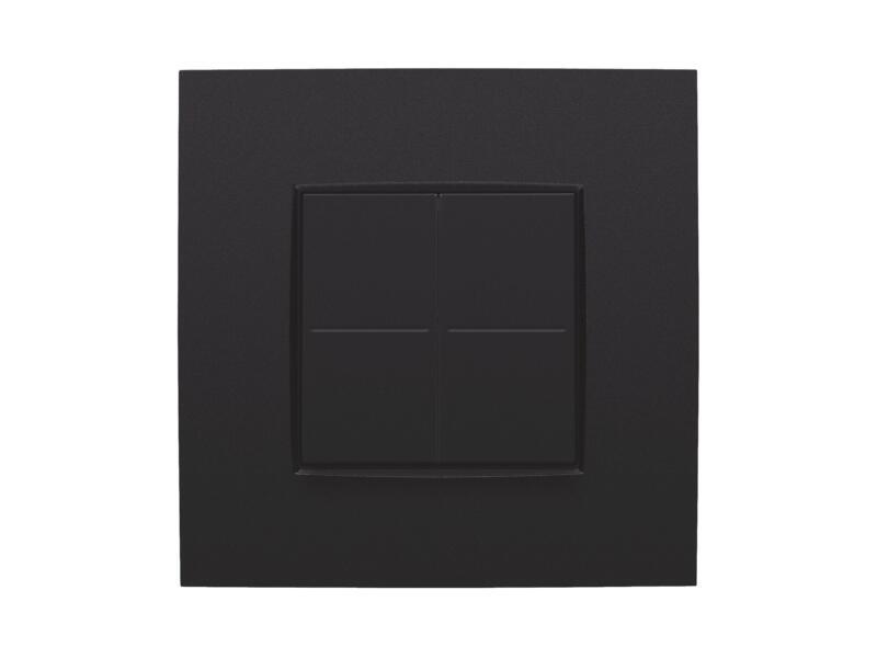 Niko interrupteur variateur pour système Hue Intense matt black