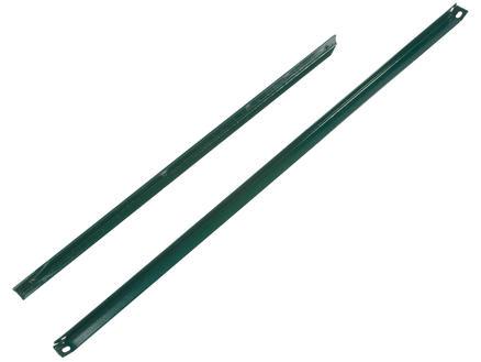 Giardino jambe de force en L 175x2,5 cm vert