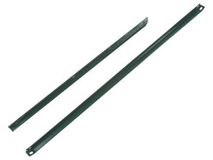 Giardino jambe de force en L 225x2,5 cm vert
