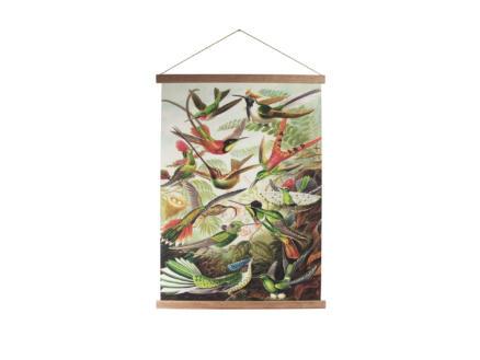 Art for the Home kakemono 60x80 cm tropische vogels