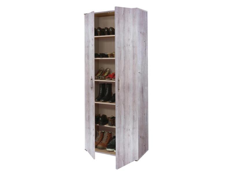 Practo Home kast multifunctioneel 70x187x34 cm eik