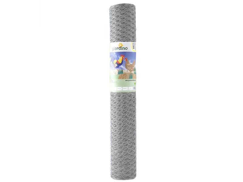 Giardino kippengaas zeskant verzinkt 5m 100cm 25mm