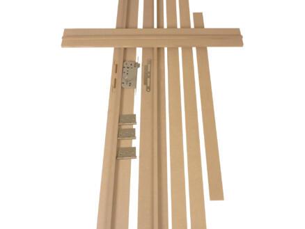 Solid kit d'ébrasement MDF 212x16,5 cm brut