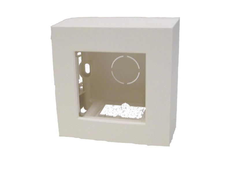 Niko kit pour montage en saillie boîte simple blanc
