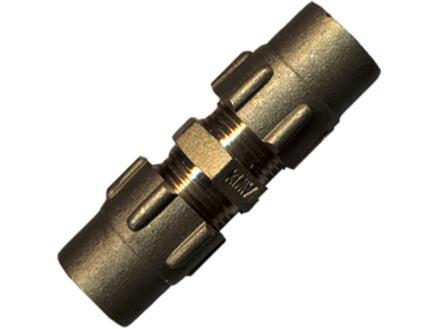 Saninstal klemkoppeling 22x22 mm gas