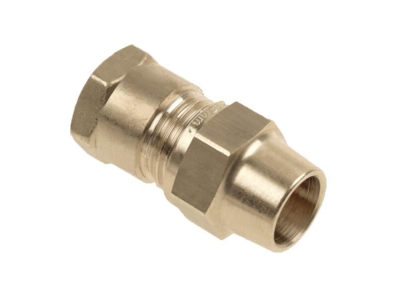 Saninstal knelkoppeling 22mm F 3/4