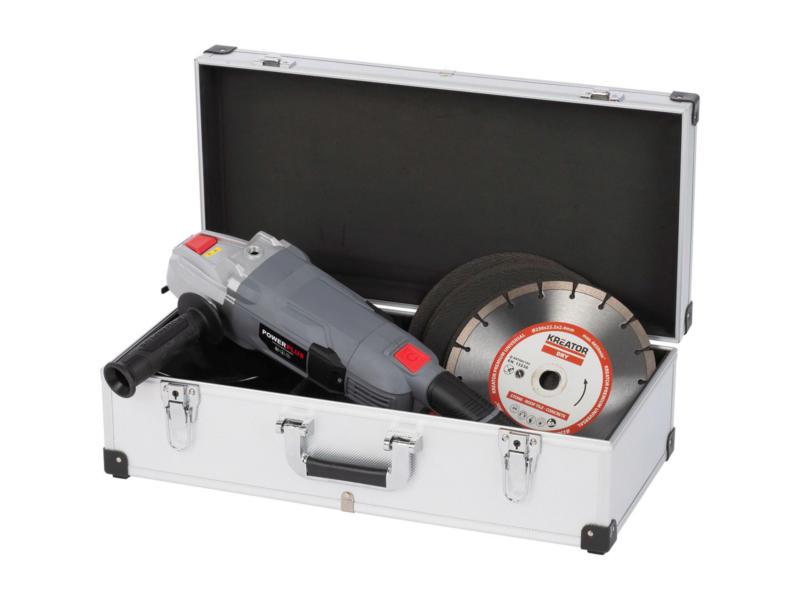 Kreator koffer 56x26,5x17,3 cm aluminium zilver