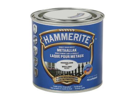 Hammerite laque brillant 0,25l blanc
