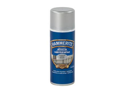 Hammerite laque brillant 0,4l gris argenté