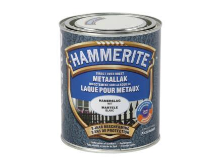 Hammerite laque martelée 0,75l blanc