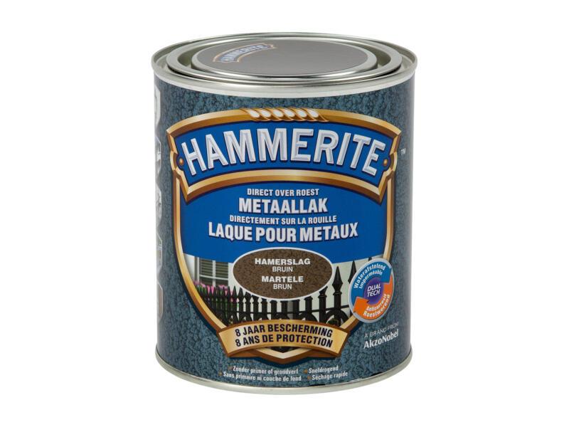 Hammerite laque martelée 0,75l brun